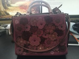 Coach rogue 194125 with tea eose pink leather satchel for Sale in Concord, CA