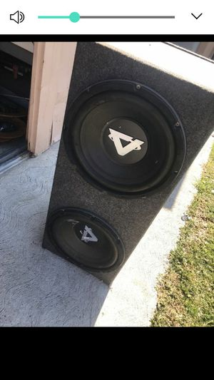 """12"""" Audiofonics Subwoofers for Sale in Los Angeles, CA"""