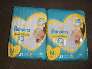 Newborn diapers for Sale in Montclair, CA