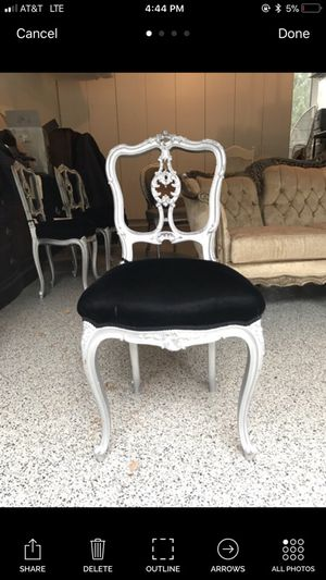 5 antique French chairs for Sale in Seattle, WA