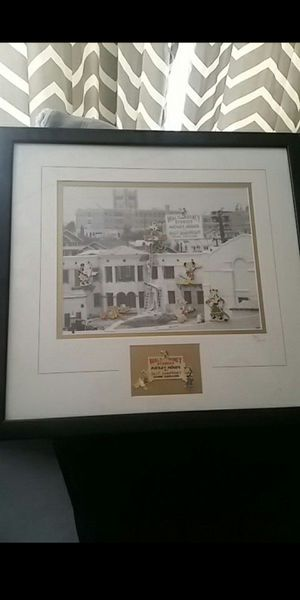 Disney silly symphony pin set framed for Sale in San Leandro, CA