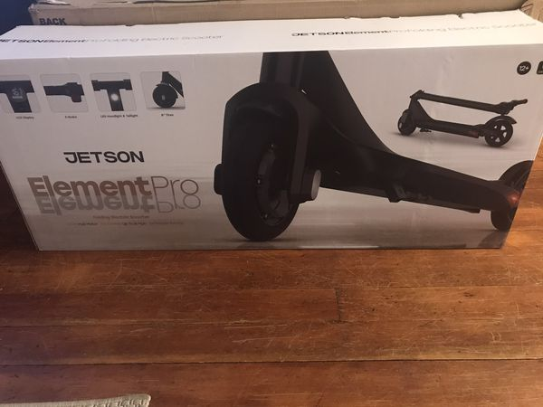 Brand new Jetson Element Pro folding electric scooter