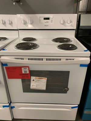 Brand New Whirlpool Electric Coil-Top Range..1 Year Manufacture Warranty Included for Sale in Chandler, AZ