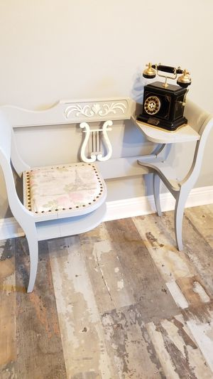 Handpainted Antique Telephone Table for Sale in Fullerton, CA