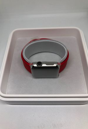 Brand New Apple Watch 38mm Stainless Red for Sale in Seattle, WA