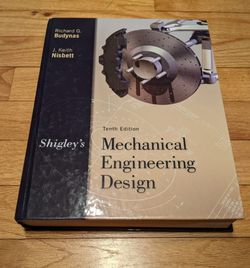 Mechanical Engineering Design Book, Richard Budynas & Keith Nesbett for Sale in Brewster,  NY