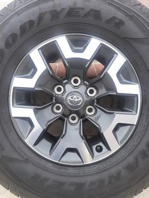 Toyota Tacoma rims and tires for Sale in San Bernardino, CA