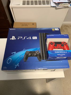 PS4 pro with an extra controller for Sale in Alexandria, VA