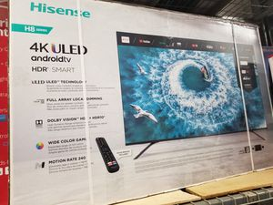"55"" ULED SMART 4K ULTRA HDTV BY HISENSE 8 SERIES BORDLESS TV 2160P 240HTZ WITH HDR. PERFECT FOR GAMING for Sale in Los Angeles, CA"
