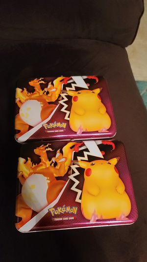2 pokemon lunch boxes for Sale in Kenneth City, FL