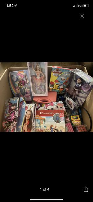 Kids toys BRAND NEW only $10 Each - Get It While Their Available !! Xmas Is Coming for Sale in St. Petersburg, FL