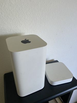 Apple AirPort Extreme & AirPort express for Sale in San Antonio, TX
