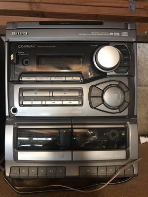 AIWA stereo system for Sale in Clovis, CA