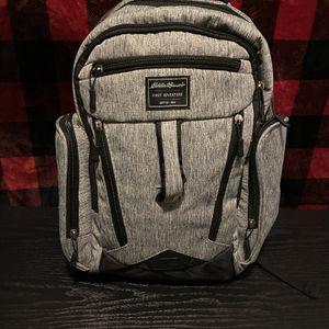 Grey Eddie Bauer Diaper Bag! for Sale in Lincoln Park, MI