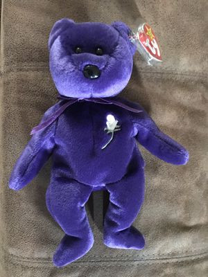 *RARE* Princess Beanie Baby with red stamp on tush tag for Sale in Florissant, MO