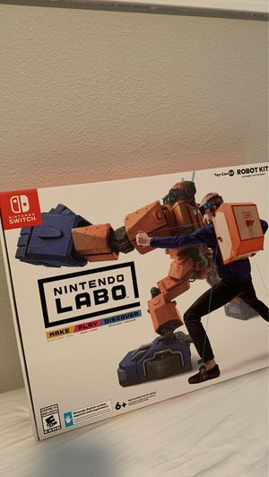 Nintendo Switch - Robot Kit LABO Set. Unopened for Sale in Beaverton, OR