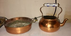Copper pot and pan for Sale in Henderson, NV
