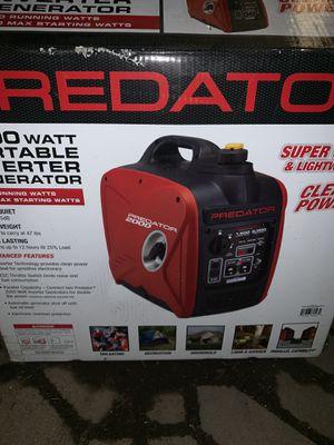 Predator inverter generator for Sale in Los Angeles, CA
