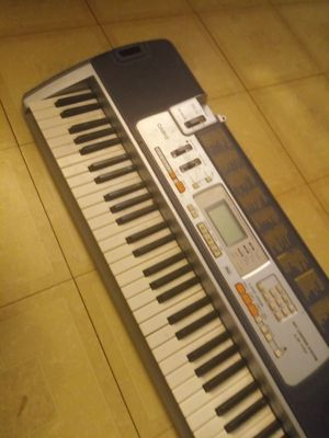 The Casio LK-110 music keyboard for Sale in Tempe, AZ