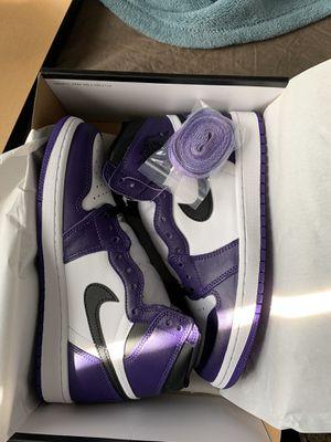 "Air Jordan 1 ""Court Purple"" Size 8 for Sale in Belleville, MI"