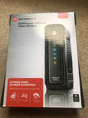 Arris / Motorola SB6121 cable modem for high speed internet for Sale in Temple City, CA