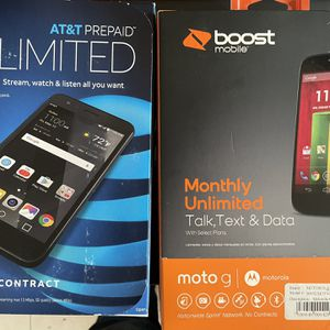 AT&T Phone And Boost Phones For Sale Brand New!! for Sale in Los Angeles, CA