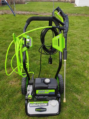 Pressure washer green works used only 4 times for Sale in Ann Arbor, MI