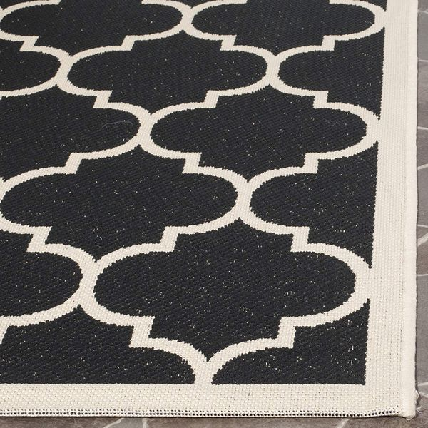 Black White Beige Red Blue Indoor/Outdoor Area Rug For Patio Chairs, Deck, Garage, Beach Mat, for bbq grille, dry feet at swimming pool