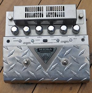 Mesa Boogie V-Twin preamp pedal and power supply for Sale in Scottsdale, AZ