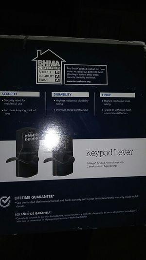 2 -Keypad door handles and locks for Sale in Wewoka, OK