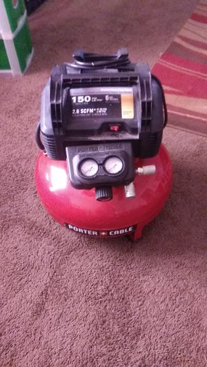 Portor cable air compressor for Sale in Nashville, TN