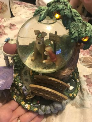 Disney Lady and the Tramp Snowglobe for Sale in Columbia, SC
