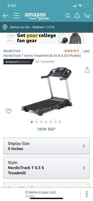 Nordictrack Treadmill brand new for Sale in Oceanside, NY