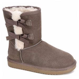 Koolaburra by Uggs | Grey Victoria Short Bow Boots- SZ 4K for Sale in Las Vegas, NV