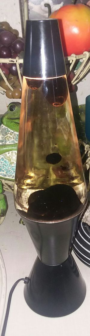 Black Lava Lamp for Sale in Elmwood Park, IL