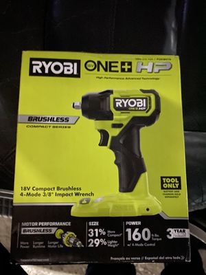 Ryobi 3/8 impact wrench NEW!!! for Sale in Houston, TX