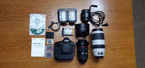 Canon 1dx Mark II pack for Sale in Auburn, IN