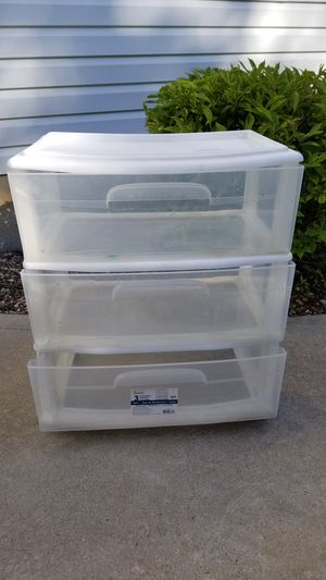 3 Drawer Storage Container for Sale in St. Peters, MO