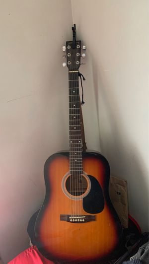 Indiana Scout Sunburst acoustic guitar for Sale in Baltimore, MD