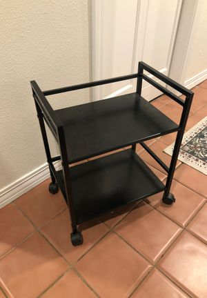Small Rolling metal cart/shelf for Sale in Portland, OR