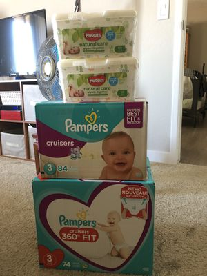 Pampers $20 EACH +FREE WIPES SELLING ALL TOGETHER for Sale in Camp Pendleton North, CA