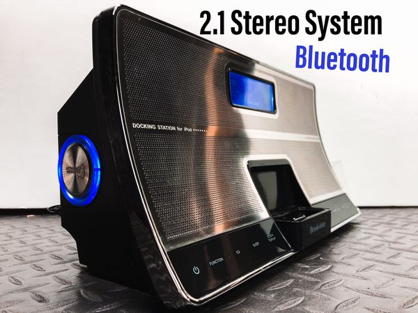 2.1 Stereo System with Bluetooth
