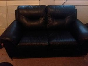 Leather sofa and love seat for Sale in Salt Lake City, UT