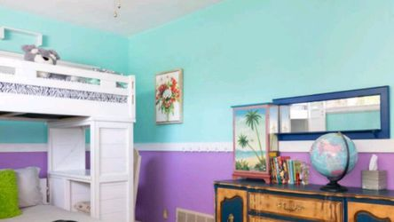 Bunk Bed With Desk And Stairs for Sale in St. Petersburg,  FL