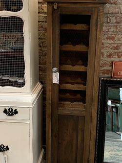 Refinished Rustic Farmhouse Wine Cabinet for Sale in Bonney Lake,  WA