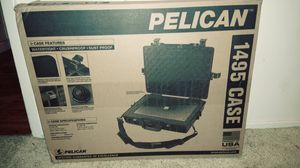 New Pelican 1495 gun/laptop case with lock for Sale in Anderson, CA