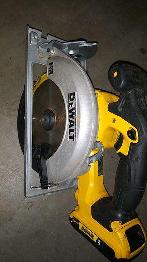 "Dewalt Cordless 6 1/2"" Circular Saw w/battery for Sale in Salt Lake City, UT"