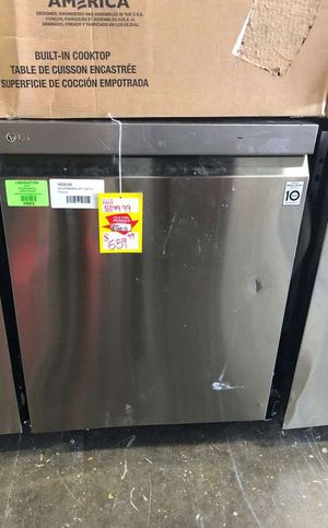 """LG Stainless Steel 24"""" Top Control Dishwasher‼️ IOT for Sale in Chino, CA"""