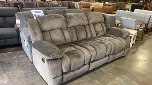 "BRAND NEW Homelegance Laurelton 90"" Microfiber Double Reclining Sofa for Sale in Hilliard, OH"