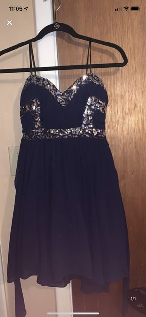 Navy blue prom/ homecoming dress for Sale in North Little Rock, AR